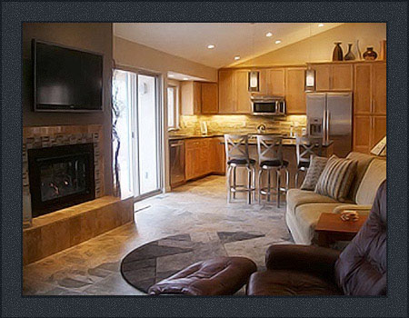 Wynn Interiors - Aurora Colorado Home Remodel - Family Room