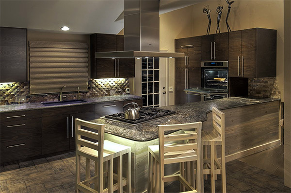 Wynn Interiors - Aurora Kitchen Remodel - Peninsula Dining