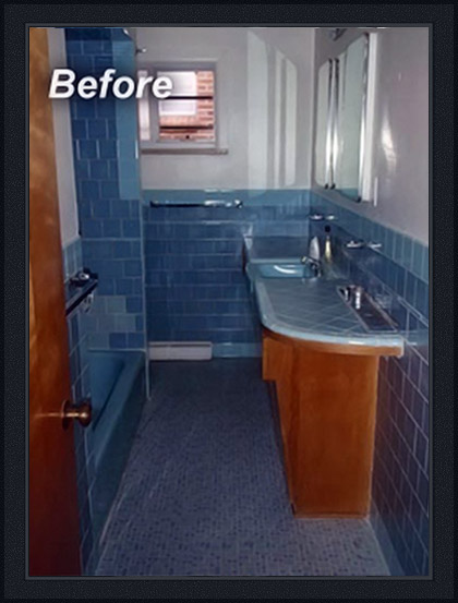 Cherry Creek bathroom before remodel