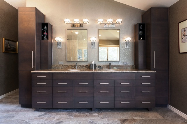Wynn Interiors - Evergreen Bathroom Remodel - Cabinetry