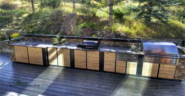 Wynn Interiors - Outdoor Kitchen Design